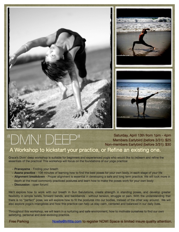 Divin' Deep Workshop with Grace